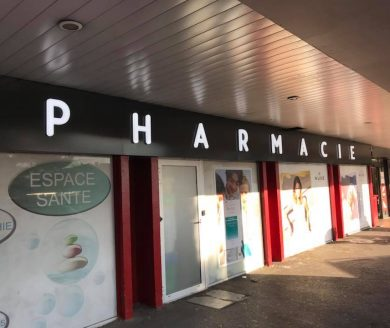 Enseignes lumineuses pour pharmacie