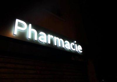 Enseigne Pharmacie Marseille