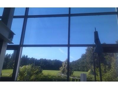 Film solaire bâtiment et vitres teintées