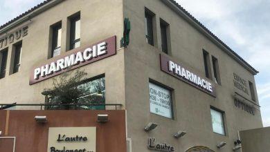Enseigne lumineuse pour la Pharmacie Saint Barnabé à Marseille