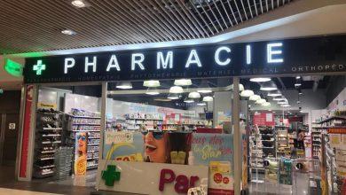 Enseigne lumineuse pour la Pharmacie du géant Casino de Aix-en-Provence