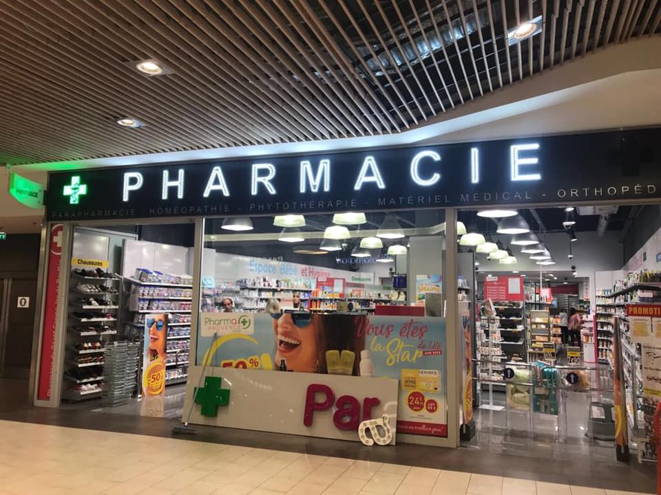 Pharmacie aix geant casino